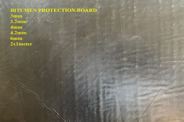 bitumen protection board bituboard waterproofing